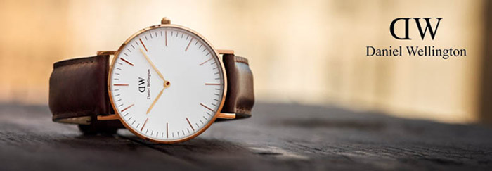 Daniel Wellington dameure