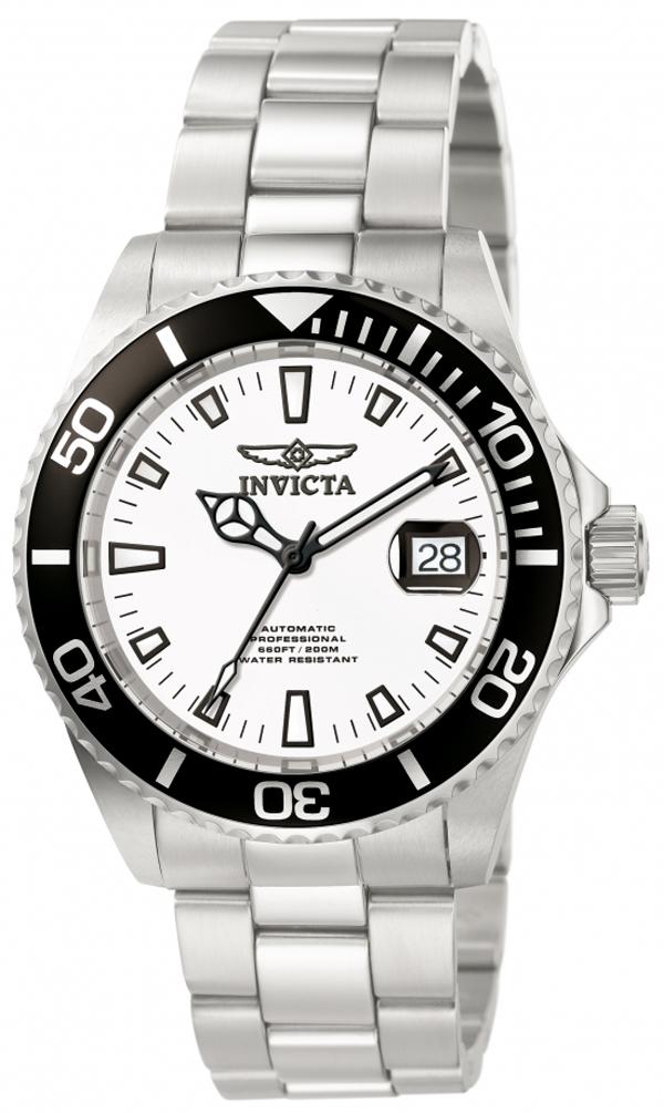 Dykkerur med automatik værk og Flame Fusion glas - Invicta Pro Diver Automatic 1002