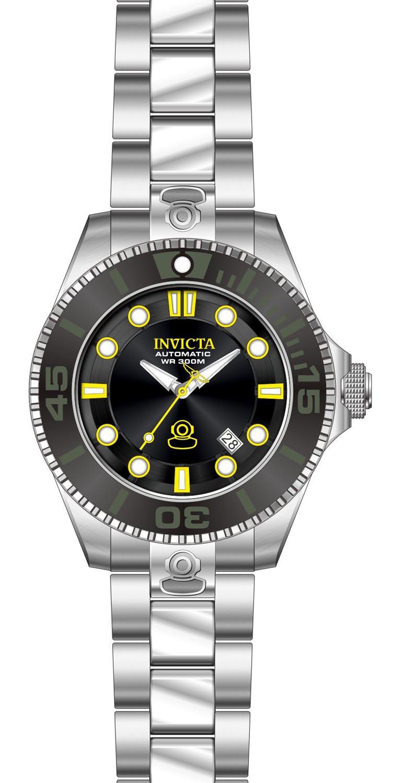 Stort 300m dykkerur til mænd - Invicta 300M Automatic Pro Diver 47mm 19797