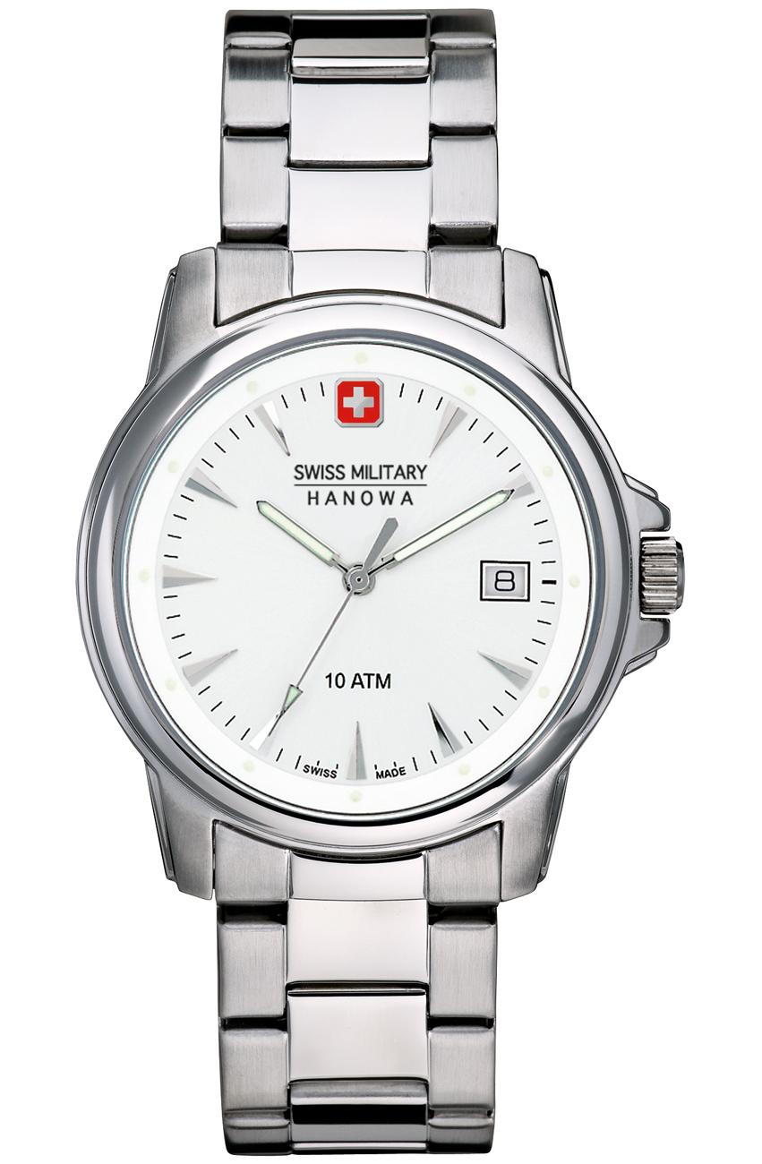 Klassisk armbåndsur i stål - Swiss Military Hanowa Recruit 06-5044.04.001