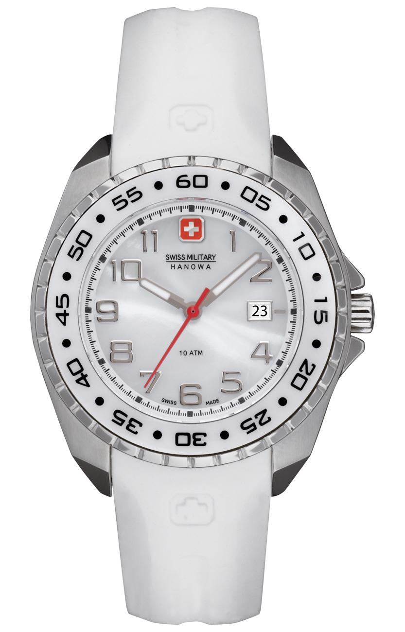 Lækkert armbåndsur til kvinder - Swiss Military Hanowa Sealander Sport 06-6144.04.001