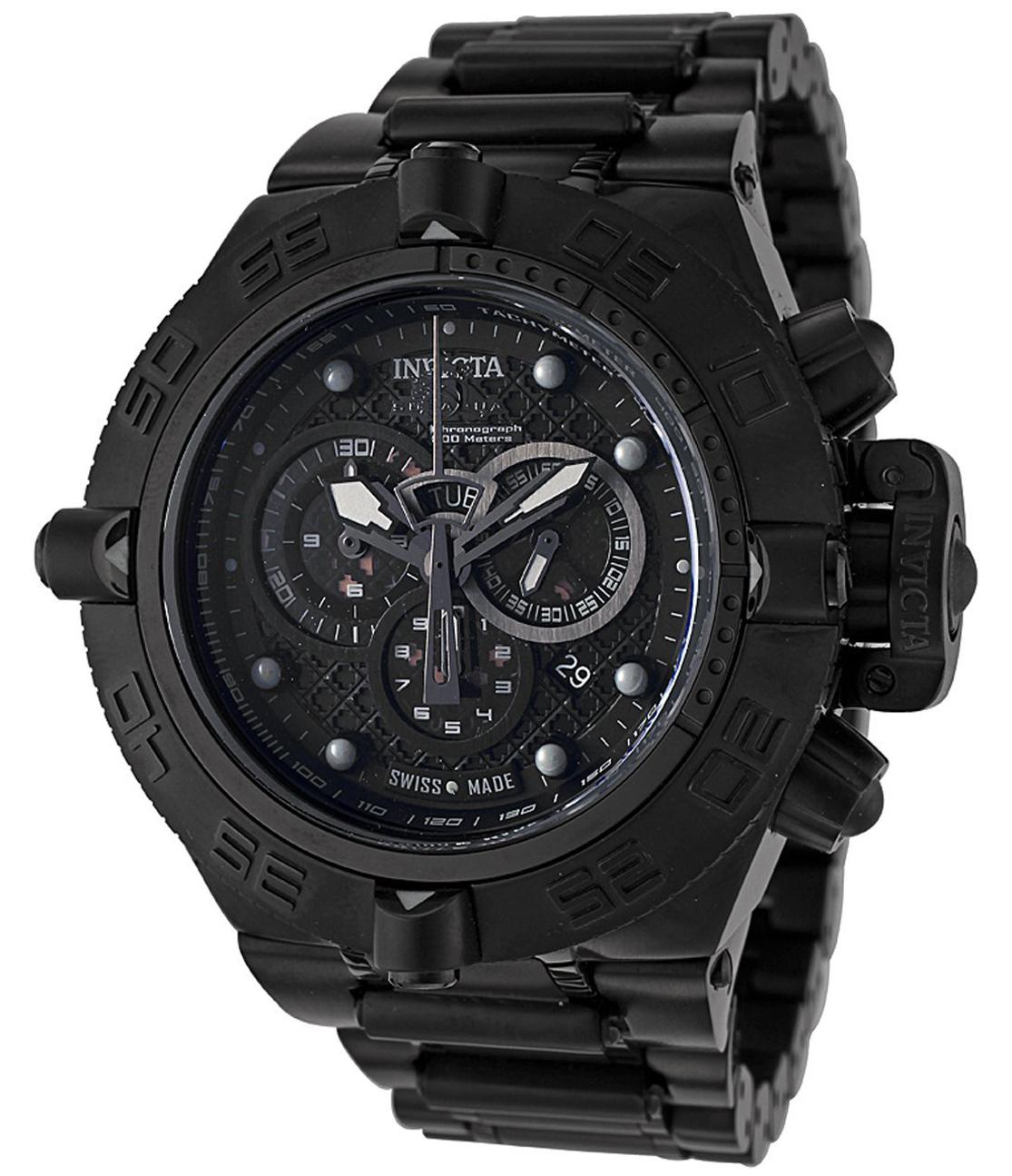 Invicta Subaqua Noma IV Chronograph All Black - 6561