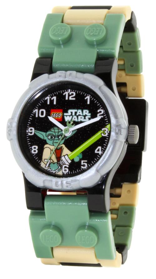 Yoda børneur fra Star Wars serien - LEGO Yoda Star Wars Minifig 03-10012