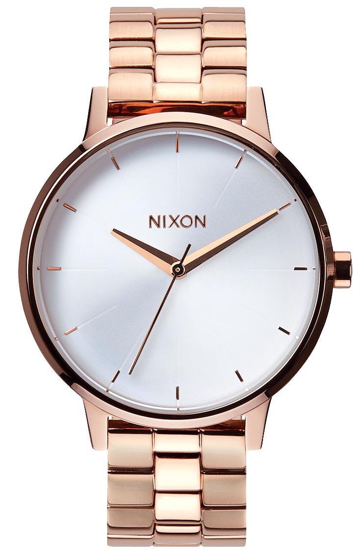 Rosegold ur til kvinder - Nixon Kensington Rose Gold / White A099-1045