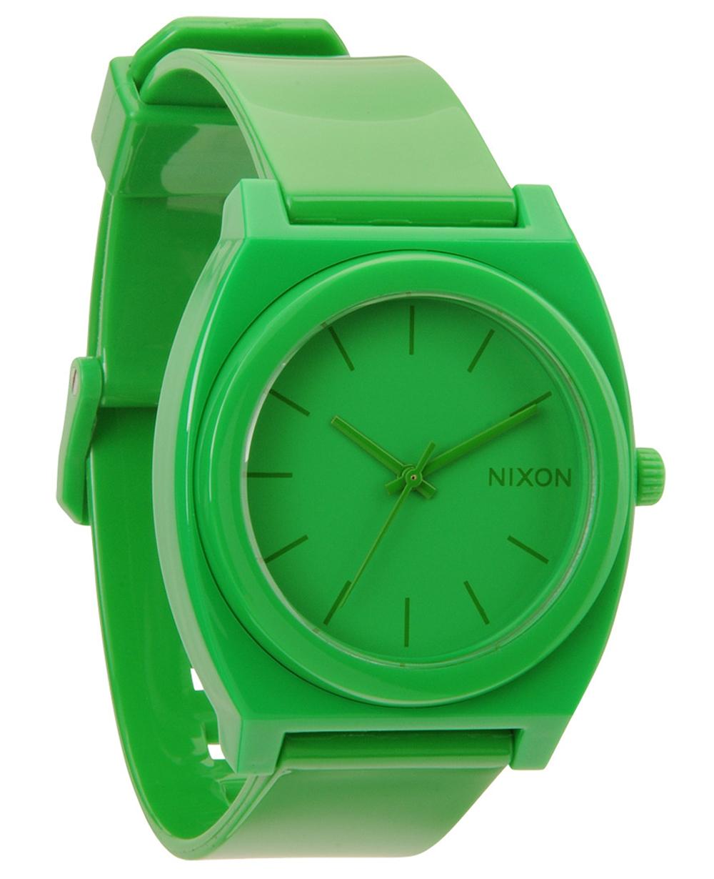 Nixon Time Teller P grøn - A119-1330