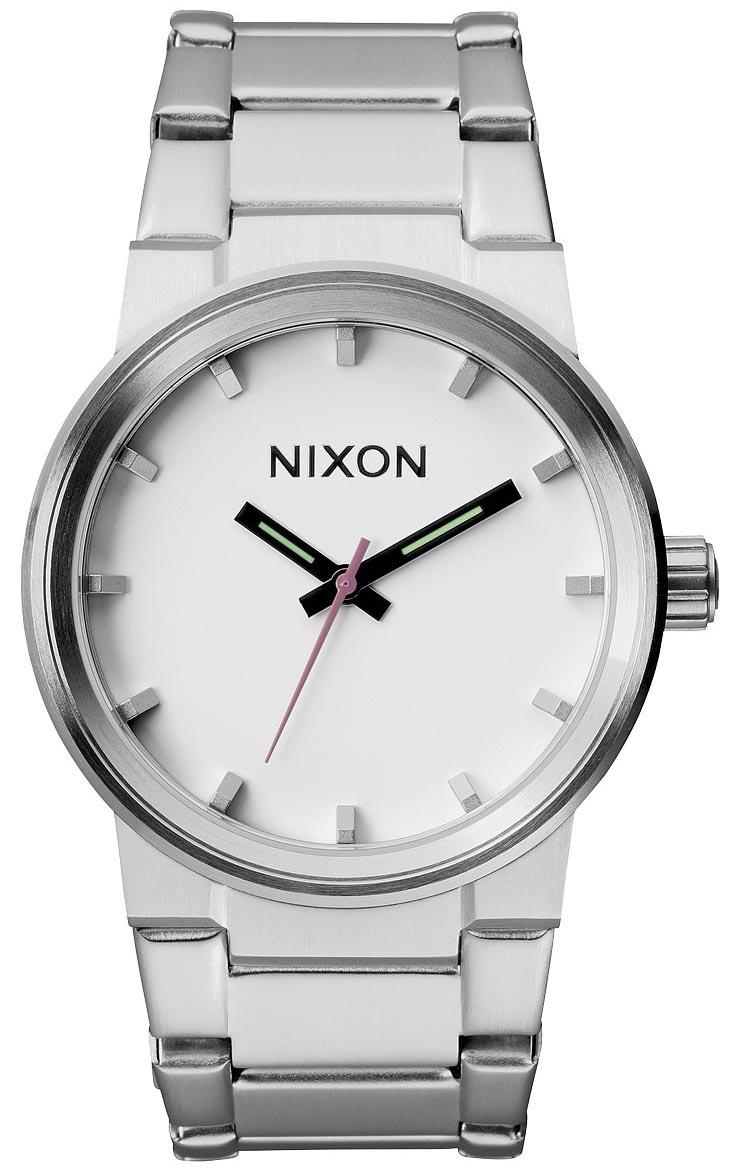 Chunky Nixon ur i et moderne design - Nixon Cannon White A160-100