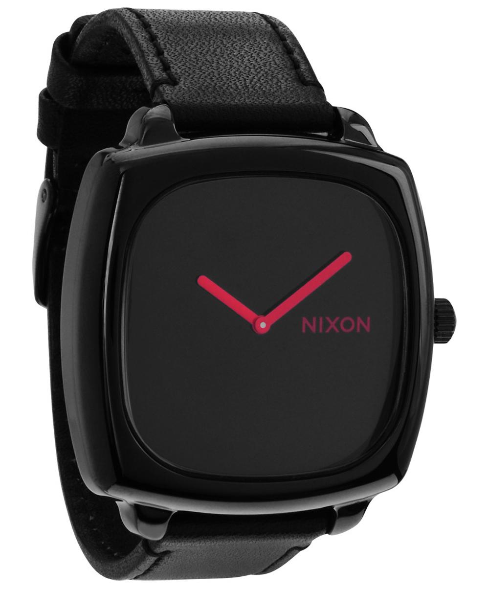 Sort minimalistisk ur - Nixon Shutter SS All Black/Pink A286-871 - LIQ