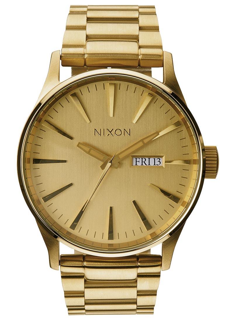 moderne-guldur-til-mand-fra-nixon-watches-nixon-sentry-ss-all-gold-a356-502