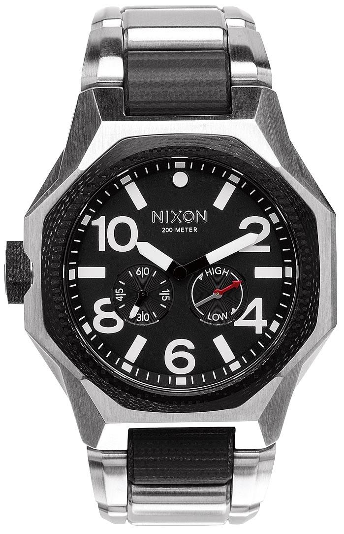 Nixon herreur med schweizisk urværk - Nixon Tangent Black A397-000