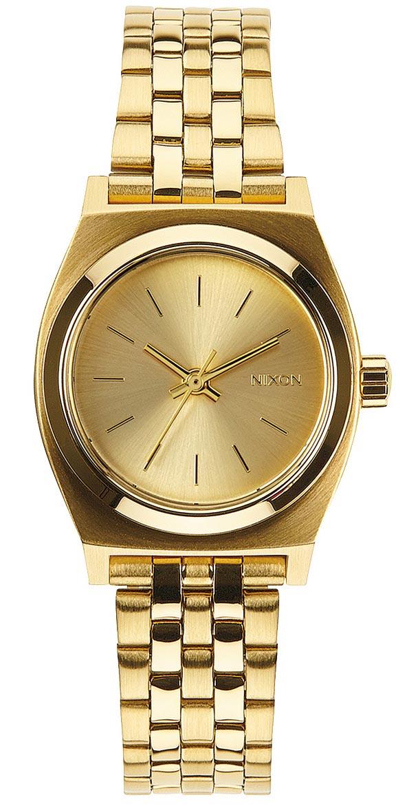 Lille Nixon ur i guld til kvinder - Nixon Small Time Teller All Gold A399-502
