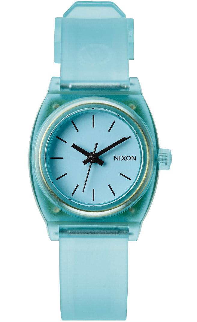 lille-mintfarvet-dameur-fra-nixon-watches-nixon-small-time-teller-p-translucent-mint-a425-1785