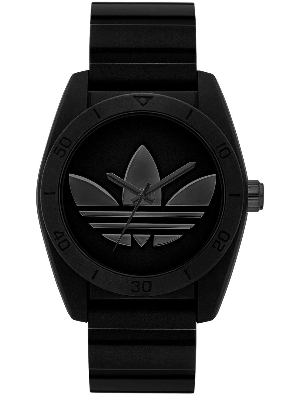 Sort unisex ur fra Adidas - Adidas Santiago All Black ADH2919