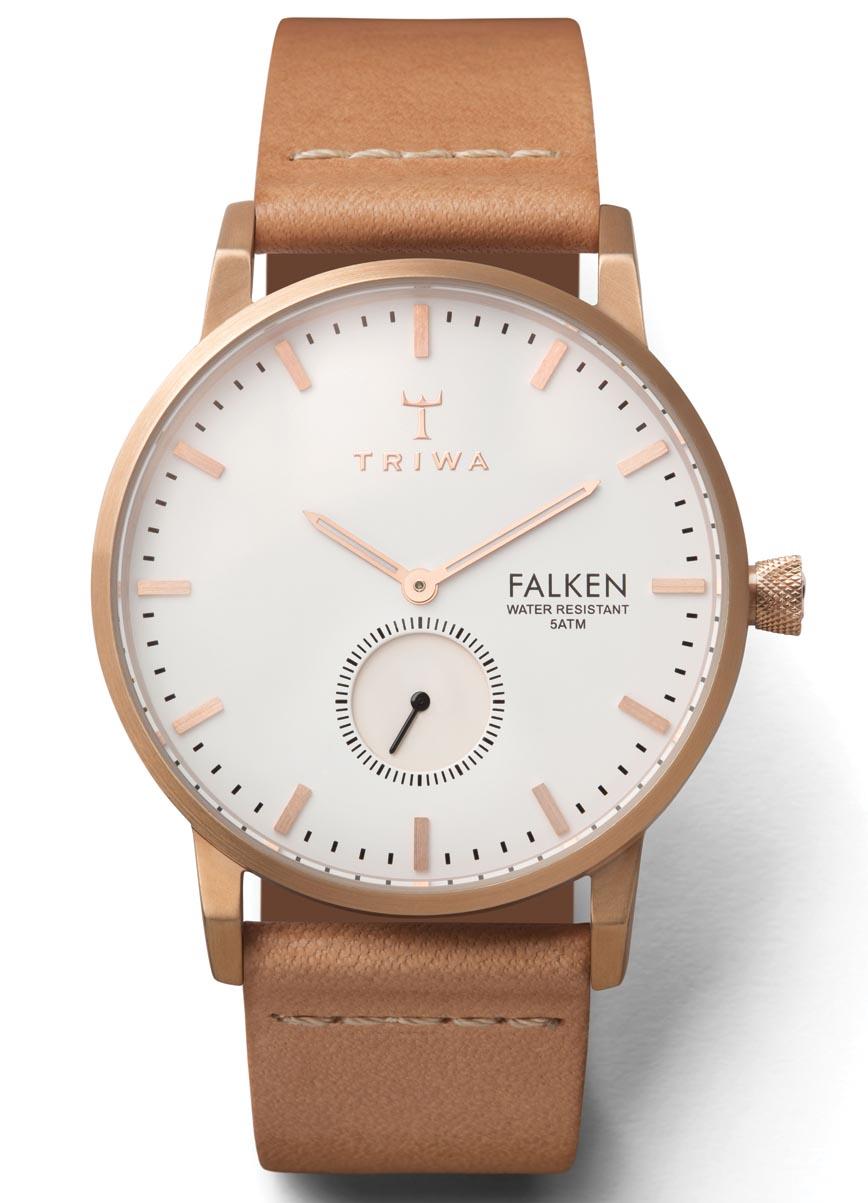 Triwa 2015 unisex ur - Triwa Rose Falken Tan Classic FAST101.CL010614