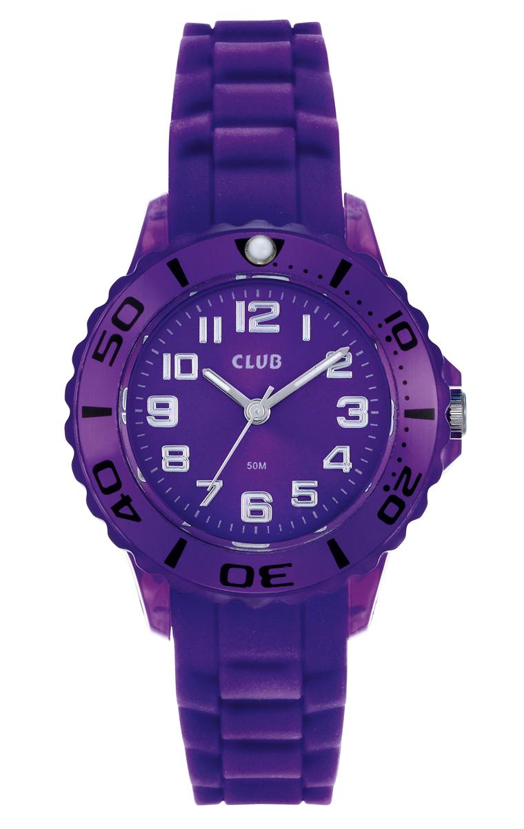 Billede af Lilla armbåndsur til piger - Club by Inex A65163PU10A