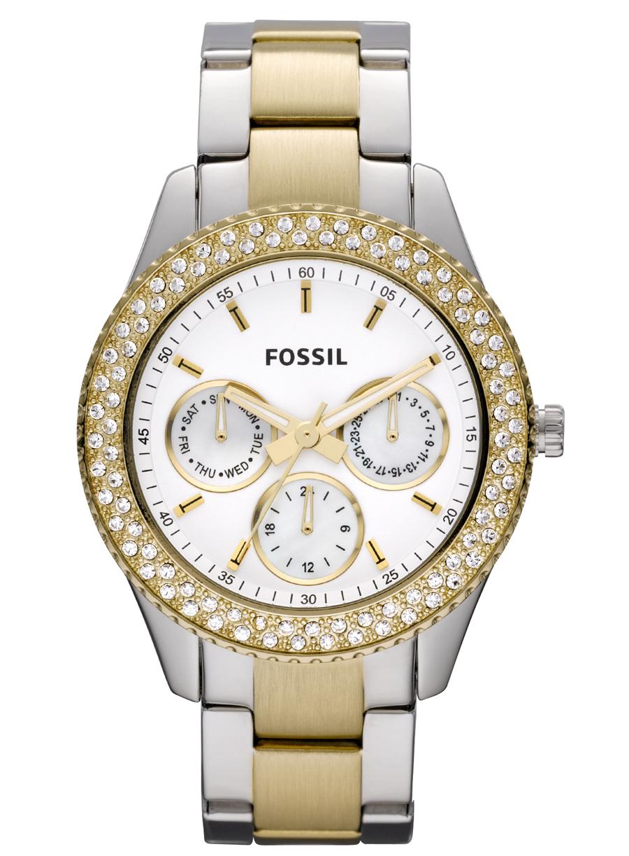 Tofarvet ur til damer - Fossil Stella ES2944