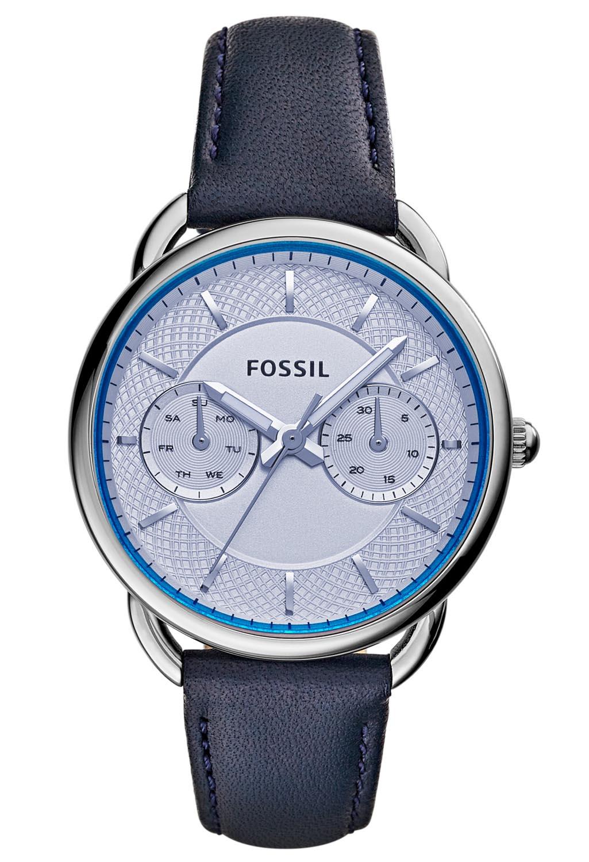 Fossil dameur med blåt glas - Fossil Tailor ES3966