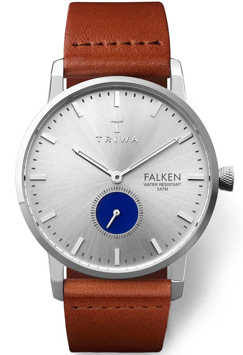 Triwa Blue Eye Falken Brown Classic FAST111.CL010212