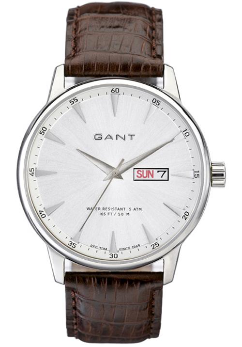 Gant Covingston ur til mænd med læderrem - W10702