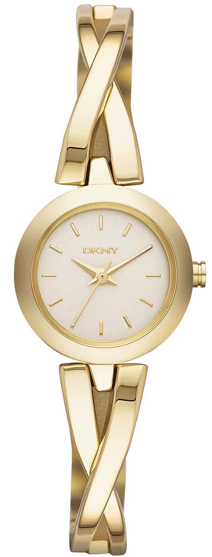 Donna Karan dameur i guld - DKNY Crosswalk NY2170